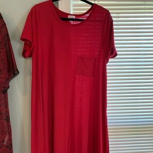 Cherry red XL Carly